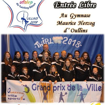 NATIONAL UFOLEP DE TWIRLING BATON A OULLINS !!!