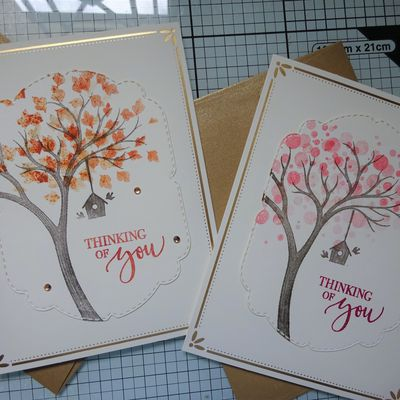[Stampin'Up!®] Life is beautiful: 2 exemples de cartes