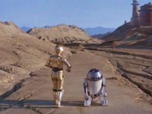 Lieux de tournages de Star Wars dans la Vallée de la mort, Californie