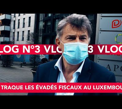 VLOG EPISODE 3 : On traque l'évasion fiscale au Luxembourg.