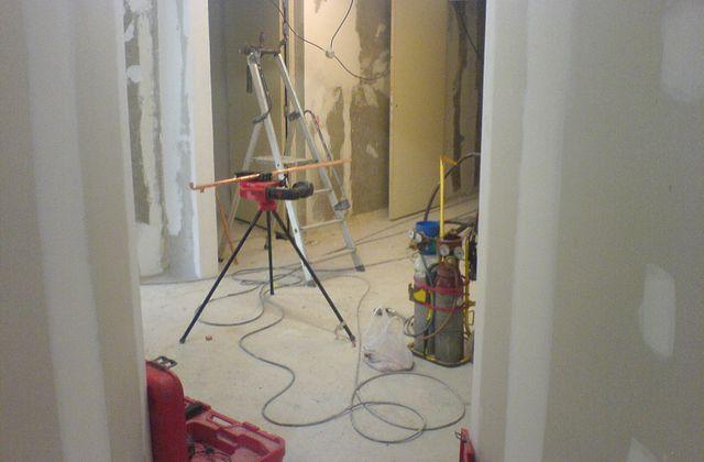 Réunion de chantier (nouveaux locaux de l'AMATraMi)
