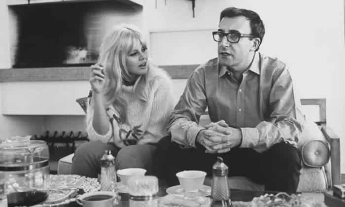 Peter Sellers and Britt Ekland at their home in Beverly Hills, shortly after their marriage in 1964. Photograph: Allan Grant/The Life Images Collection via Getty Images