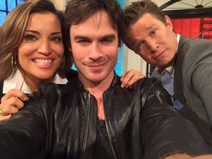Access Hollywood Live avec Ian Somerhalder