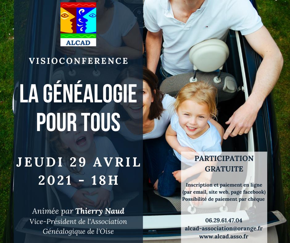 Webconférence - La généalogie pour tous