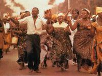 Le toi Baudoin au Congo - Les congolais fêtent leur indépendance - De nouveaus Etat africains ...