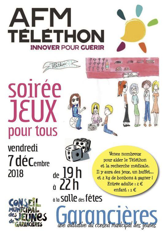 Bilan Téléthon à Garancières