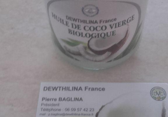 Mon partenaire Dewthilina (Huile de coco)