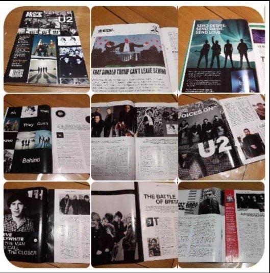 """U2 - Magazine Hot Press """"U2: 80-00-20 special"""""""