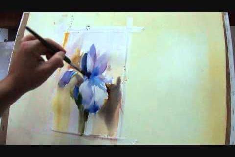Crimbranelli Fabio Watercolour Demo