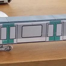 Divers - Maquettes de train en papier