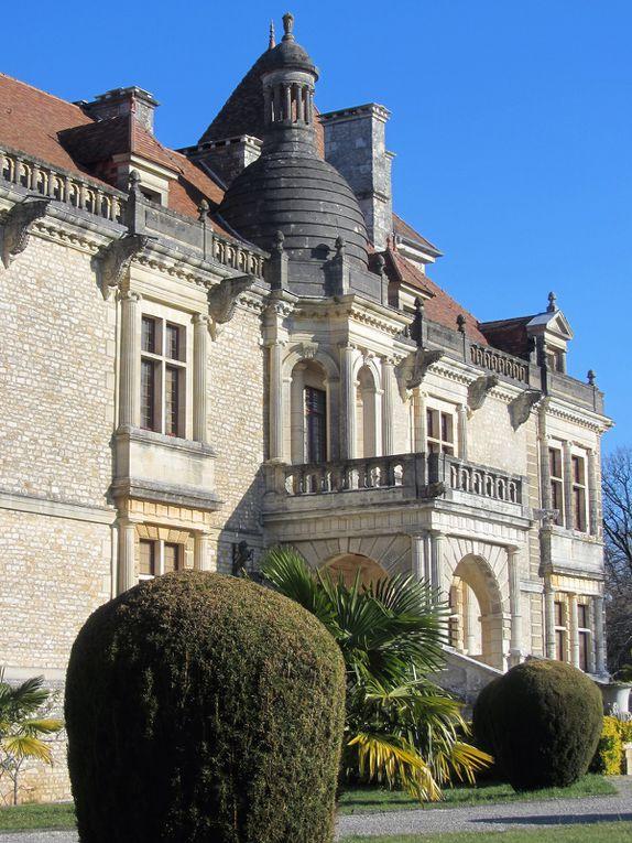 Marthon  et son château (Charente)