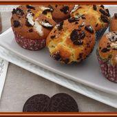 Muffins aux Oréos. - Oh, la gourmande..
