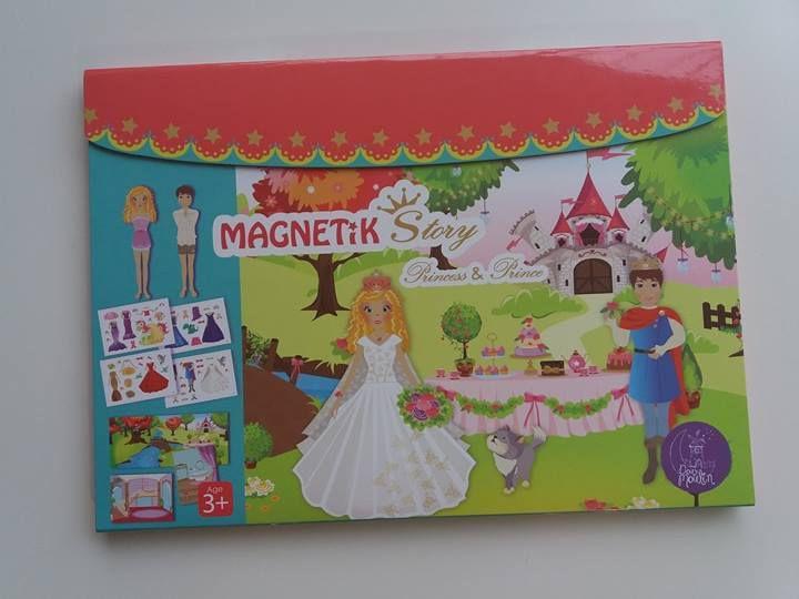 Mon coffret Magnetik Story princess & prince de chez Doux Moulin - En route pour de nouvelles aventures !