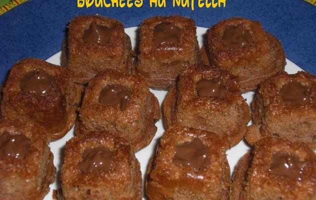 Bouchées au Nutella
