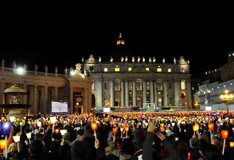 VEILLEE DE PRIERE POUR LA PAIX EN SYRIE : LA MEDITATION DU PAPE
