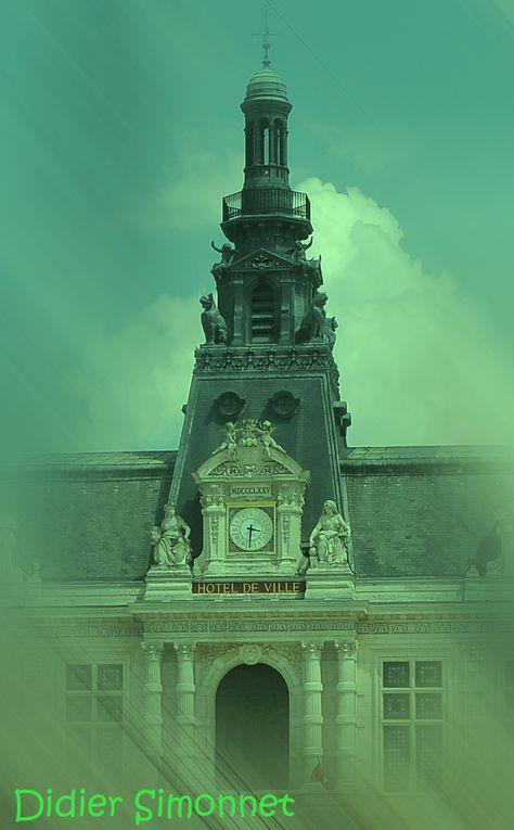 Visite de la ville de Poitiers ( Vienne )