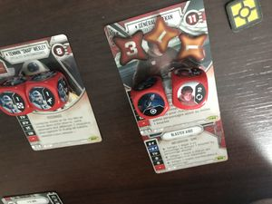 Un petit star wars Destiny en apéritif