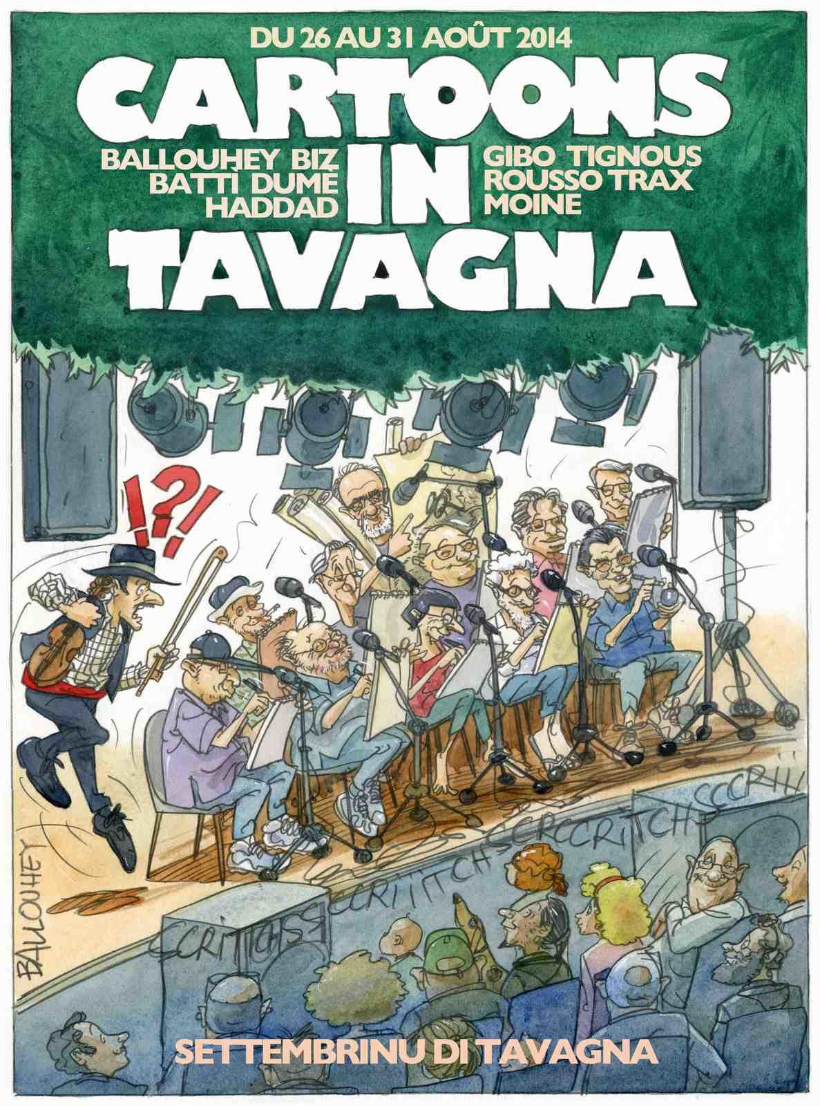 Cartoons in Tavagna