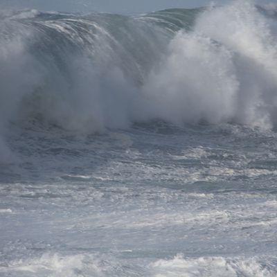 La tempête du 08-02-16 à Pors Carn St Guénolé Penmarch