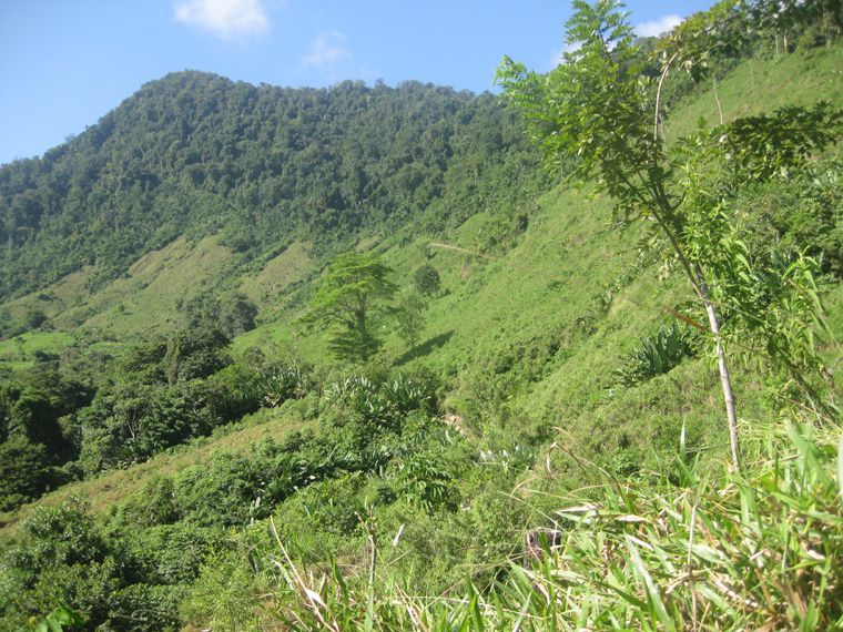 trek en momtagne vers le lieu sacre des indien tayronas
