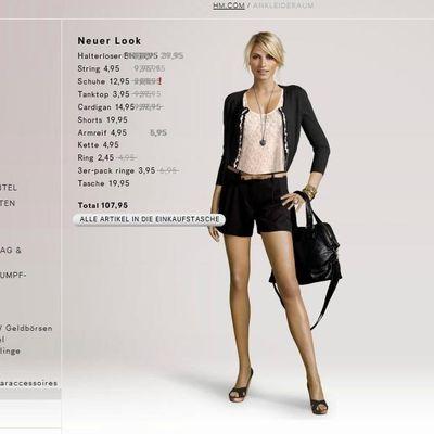 H&M Ankleideraum