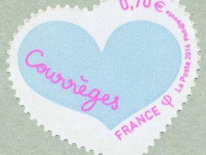 Les coeurs ont des dents : les timbres-coeurs !