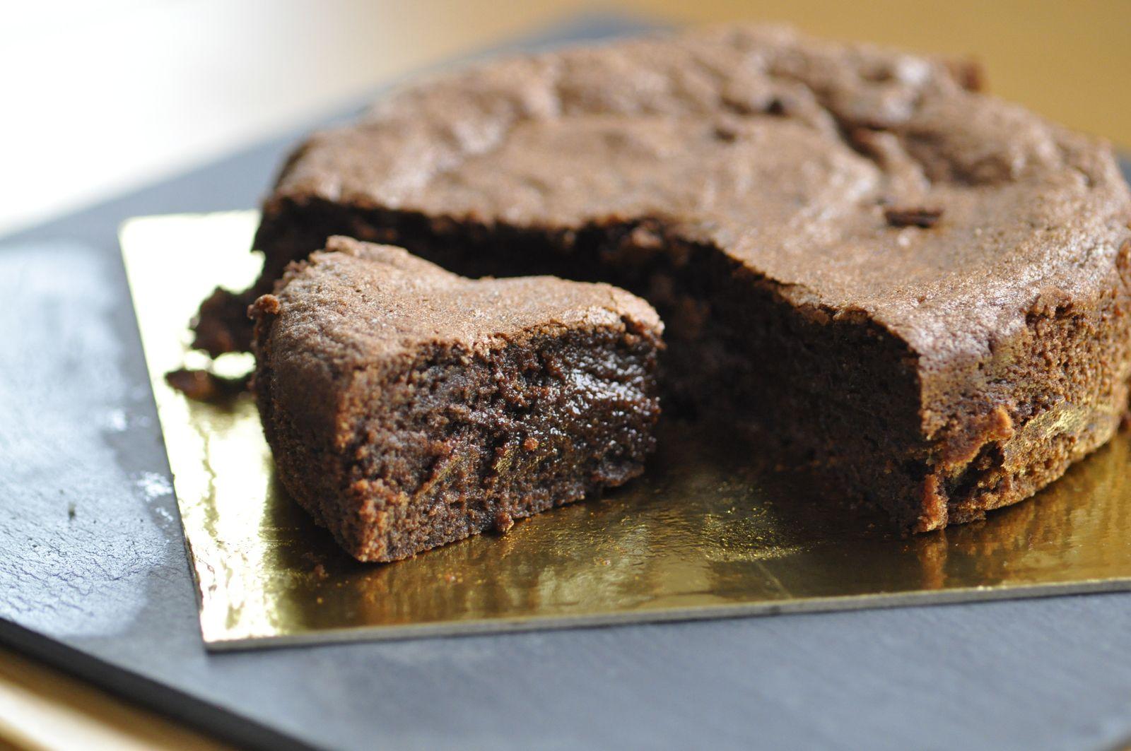 Torta caprese (fondant au chocolat sans farine)