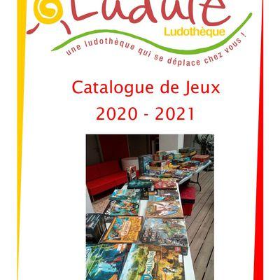 Catalogue des jeux en prêt
