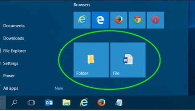 A Guide to Add Folder Shortcuts to the Start Menu on Windows 10