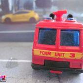 COMMAND VEHICLE METRO AIRPORT FOAM UNIT MATCHBOX 1/114 -