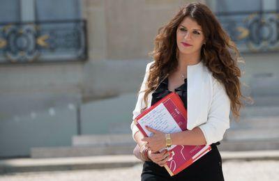 Selon le Canard enchaîné, la secrétaire d'Etat Marlène Schiappa serait sortie en pleurant du Conseil des ministres la semaine dernière