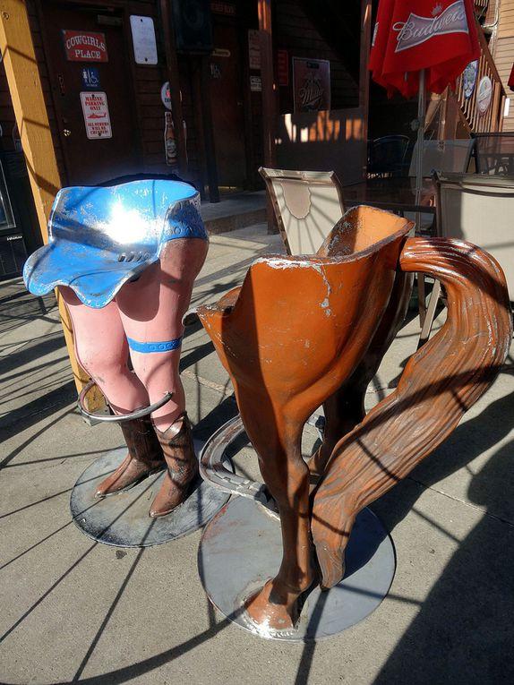 Diaporama : Décos de Deadwood Main street