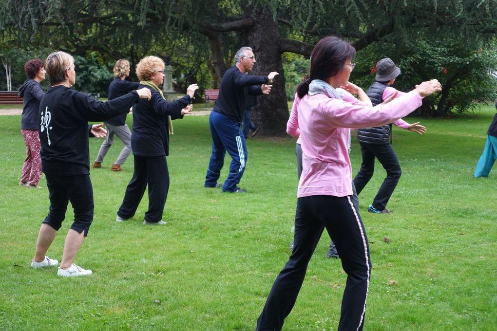 Qi Gong, Tai Ji  Quan, Tui Shou au Jardin Public Bayonne