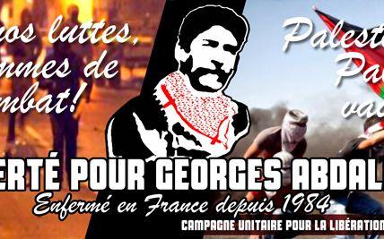 Georges Ibrahim Abdallah : manifestation du 19 juin 2016 en images.