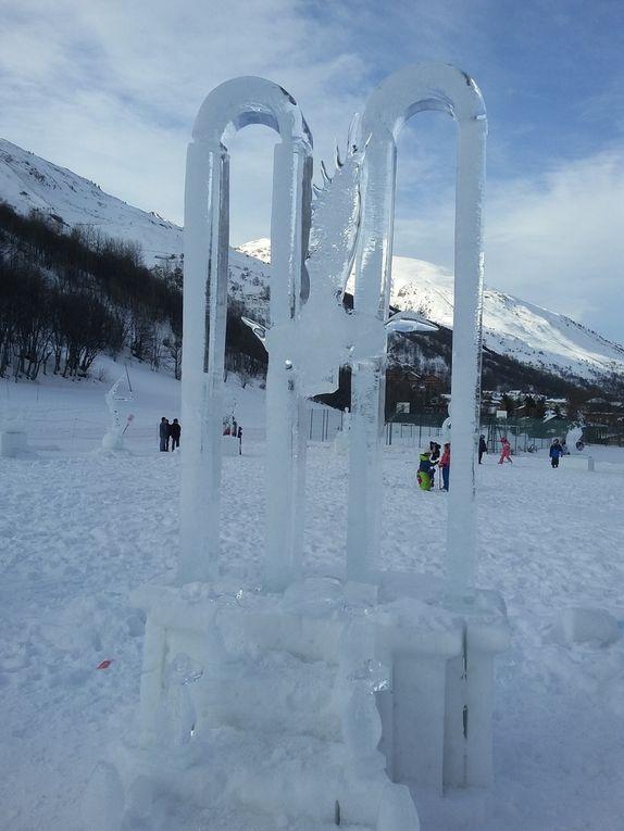 Dimanche 22 janvier : Premier jour de ski
