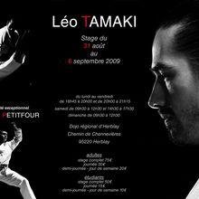 Stage Léo Tamaki et Julien Petitfour à Herblay, 31 août au 6 septembre