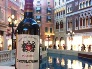La Cabanne - Bordeaux - Pomerol - Vin - Macau - Bungy Jump - Macau Tower - Venetian Casino