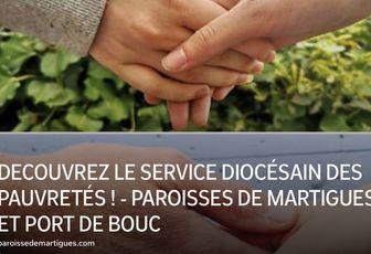 DECOUVREZ LE SERVICE DIOCÉSAIN DES PAUVRETÉS !