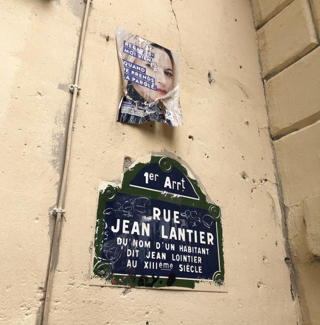 Rue Jean Lantier 1er