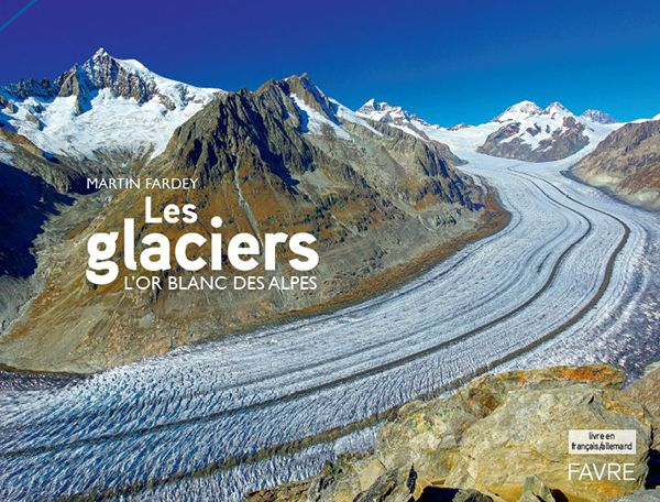 glacier or blanc alpes