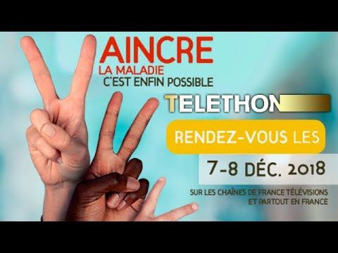 Téléthon 2018 - Le direct
