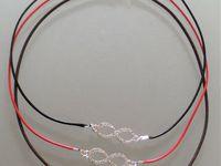 bracelets macramé et colliers connecteurs infinis