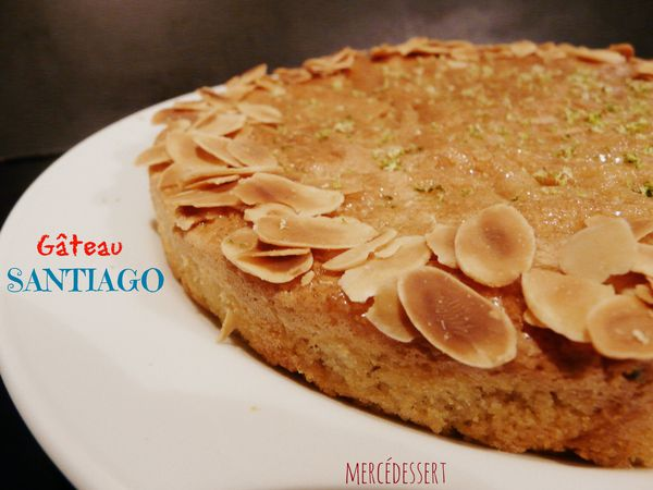 Gâteau Santiago (sans gluten)