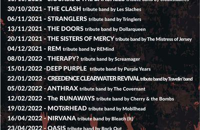 🎵  Prochains tribute bands @ Rock Classic - 55, rue Maché au Charbon à 1000 Bruxelles - 21h00 - Entrée gratuite / Free entrance