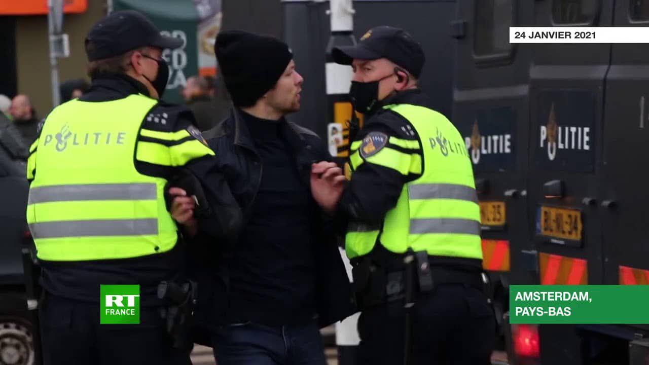 Revueltas contra la dictadura sanitaria en varios países europeos
