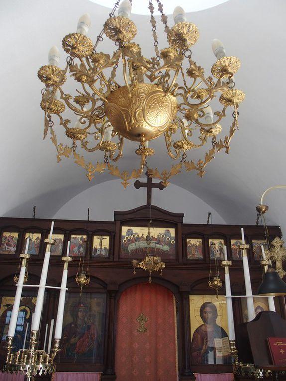 arrêt pour visiter une petite chapelle ...