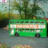 DAIMLER BUS ESSO EXTRA PETROL MATCHBOX - car-collector.net