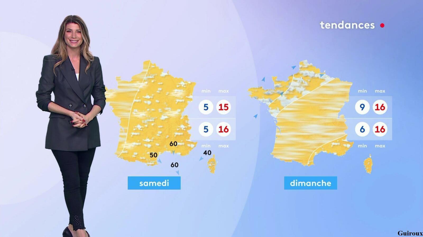 Chloé Nabédian 13/10/2021 Journaux météo du midi
