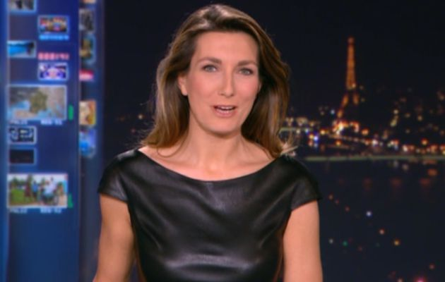 2013 12 22 - 20H00 - ANNE-CLAIRE COUDRAY - TF1 - LE 20H