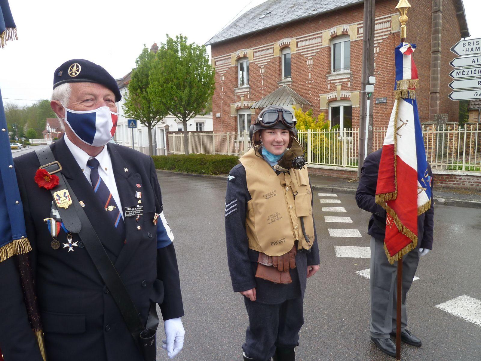 08 MAI 1945 : FIN DE LA GUERRE EN EUROPE Moy-De-L'Aisne